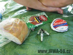 Snídaně při svíčkách - Babetton tour 2016