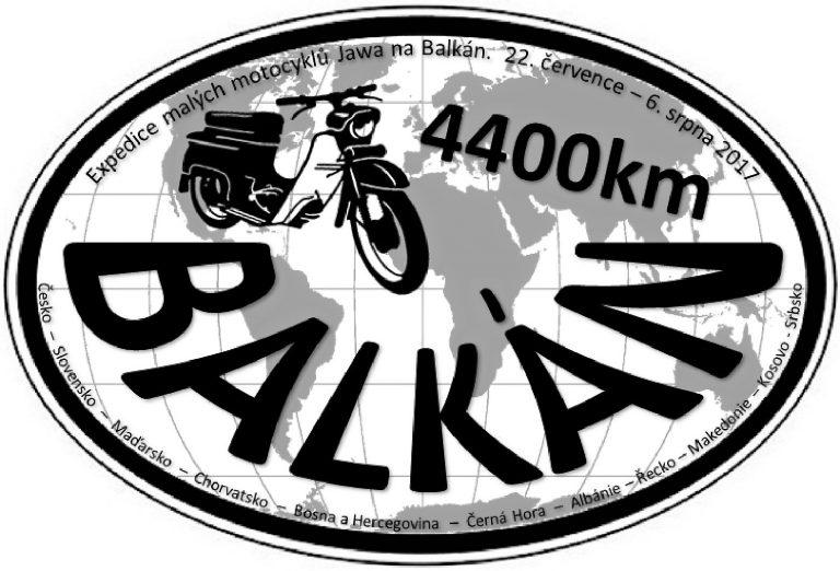 Expedice malých motocyklů Jawa 50 na Balkán (2017)