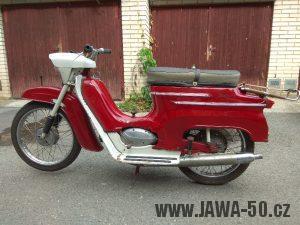 Vývozní (exportní) motocykl Jawa 05 Standard z roku 1965 pro východní Německo