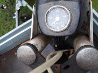 Vývozní motocykl Jawa 23A Mustang z roku 1973 v originálním stavu - tachometr