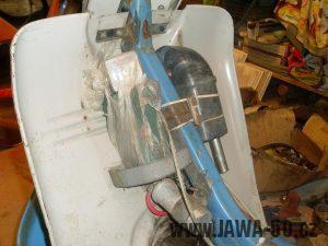 Jawa 50 Pionýr, kastlík na nářadí od roku 1975