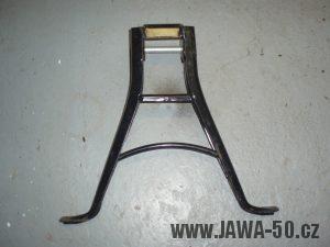 Jawa 50 Pionýr - provedení stojanu od roku 1975