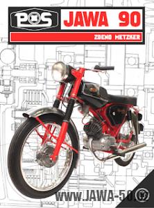 Kniha Zdeno Metzker st. - PS Jawa 90 (2017)