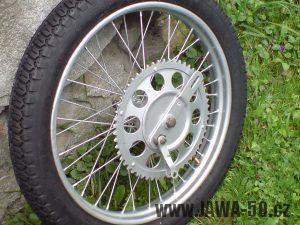Řetězové kolo (rozeta) Jawa 50 - varianta 1
