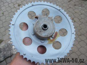 Řetězové kolo (rozeta) Jawa 50 - varianta 2