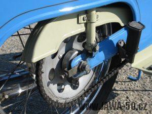 Řetězové kolo (rozeta) Jawa 50 - varianta 3