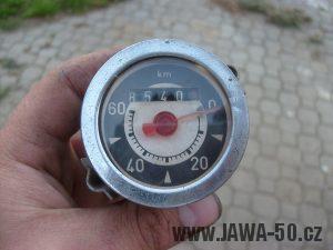 Tachometr Jawa 50 (značka PAL) - varianta 1 (Jawa 555)