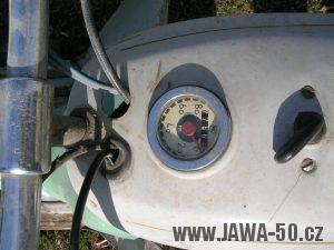 Tachometr Jawa 50 (značka PAL) - varianta 6