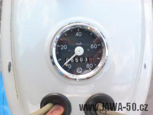 Tachometr Jawa 50 (značka FER) - varianta 8 (značka FER)