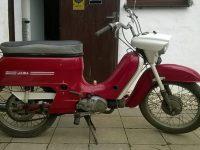 Motocykl Jawa 221 Pionýr z roku 1977, poslední vyráběné provedení