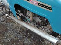 Jawa 50 typ 21 Sport (Pionýr) - čtvrtá etapa z roku 1975 - výfuk