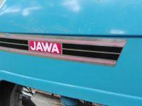 Jawa 50 typ 21 Sport (Pionýr) - čtvrtá etapa z roku 1975 - nálepka na zadním blatníku