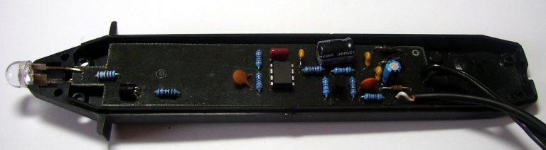 DIY LED stroboskop pro seřízení předstihu zapalování automobilu nebo motocyklu
