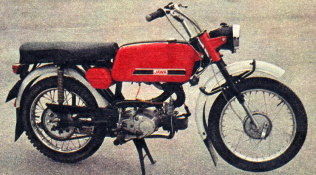 Jawa 50 typ 23 Mustang z roku 1974