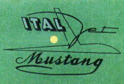 Logo Italjet Mustang