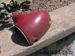 Jawa 550 Pionýr z roku 1958 - pravá polovina masky předního světlometu