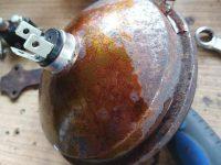 Jawa 50 typ 23A Golden Sport - optická vložka předního světla Sealed beam Aprilia 35951 6V-15/15W