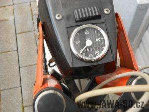 Vývozní motocykl Jawa 50 typ 23B Golden Sport pro Německo