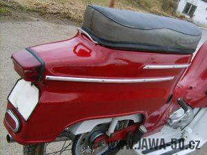 Nový typ zadní svítilny Jawa 05 Pionýr
