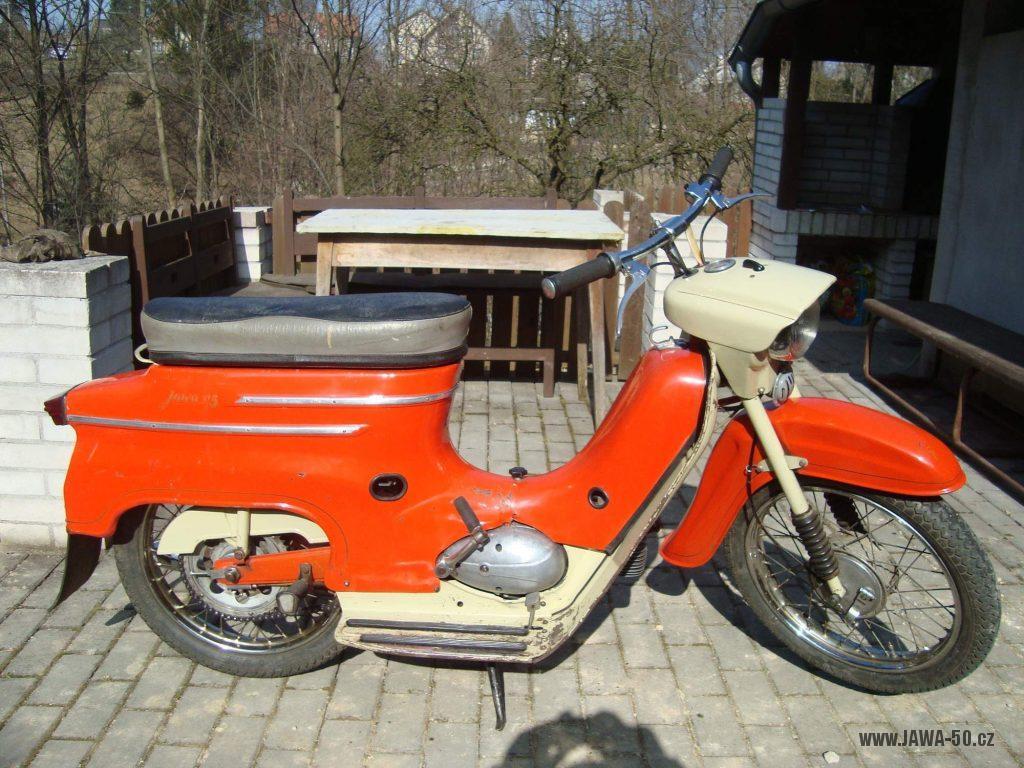 Motocykl Jawa 50 typ 05 Standard z roku 1966