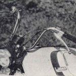Jawa 50 typ 23 Mustang pro Velkou Británii - řídítka