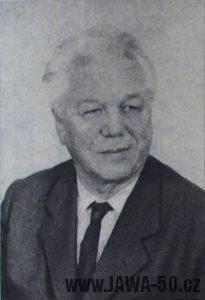 Josef Jozíf šéfkonstruktér Jawy (60. narozeniny)