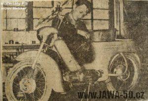 Výroba slovenského prototypu Jawy 555