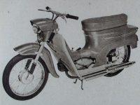 Prototyp motocyklu Jawa 50 typ 05 Pionýr (1962)