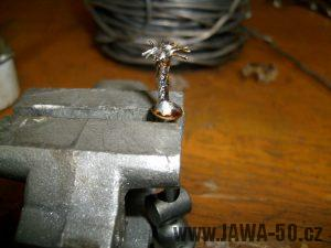 Výroba zakončení lanka bowdenu