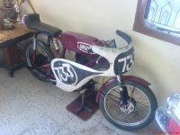 Závodní motocykl Yezdi 50 Racing (Jawa 50)