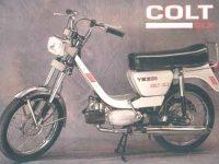 Motocykl Yezdi Colt DLX - reklamní fotka