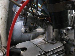 Motocykl Jawa 05 z roku 1962 v původním stavu - karburátor Jikov 2914 PS
