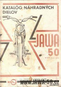 Katalog náhradních dílů Jawa 50 typ 223.200