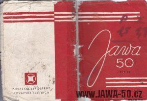 Návod k obsluze motocyklu Jawa 05 Pionýr