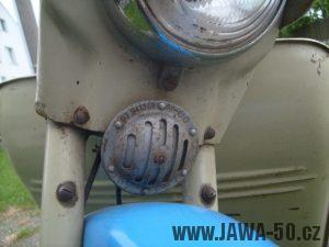 Jawa 05 Pionýr z roku 1962 - bzučák (klakson)