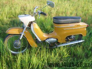 Jawa 50 typ 21 Sport (Pionýr) z roku 1974