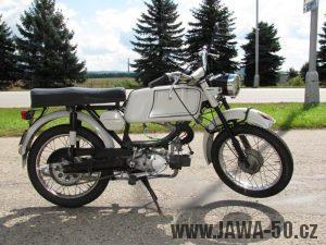 Jawa 23A Mustang - první provedení