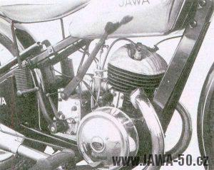 Motor první Jawy 250 (předválečné)