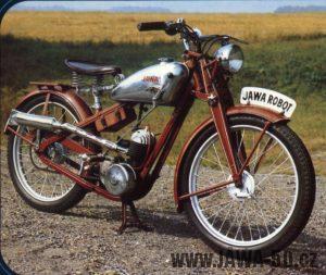 Motocykl (motokolo) Jawa 100 Robot