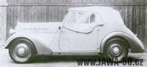 Automobil Jawa Minor I - první prototyp
