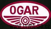 Logo motocyklového výrobce Jawa-Ogar