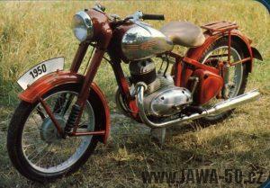 Motocykl Jawa 250 typ 10 Pérák