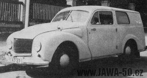Sériový automobil Jawa Aero Minor STW