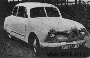 Prototyp automobilu Jawa Minor III