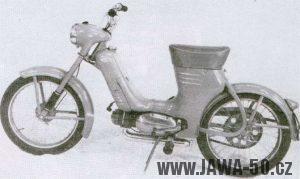 Malý motocykl Jawa 50 typ 550 Pionýr (Pařez)