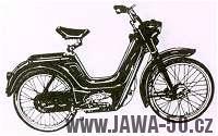 Moped Jawa 551 Jawetta Standard