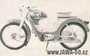 Moped Jawa 50 typ 551 Jawetta Sport
