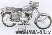 Jawa určená pro Švédskou armádu v modifikaci firmy Fleon