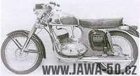 Motocykl Jawa 350 typ 361 Road King