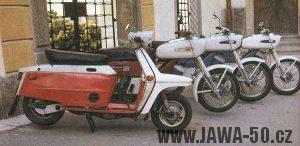 Prototypová unifikovaná řada motocyklů Jawa